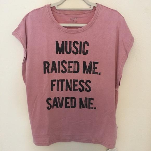 """"""" MeFitness """"music Me Reebok Saved Raised Nwt 7g6vIYfymb"""